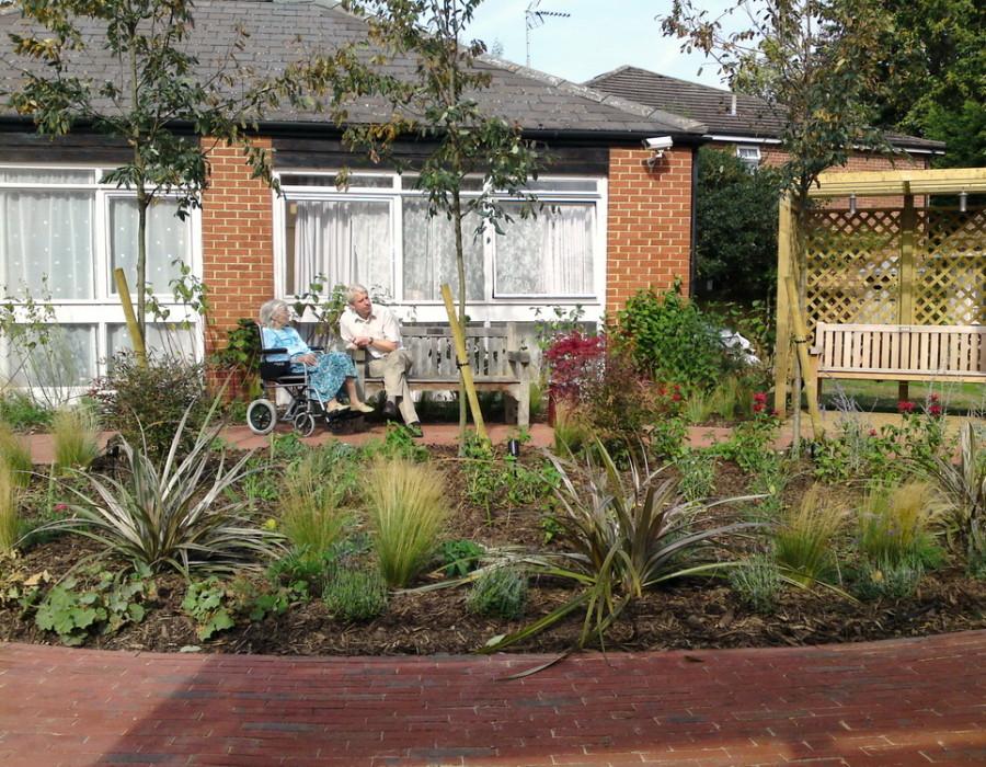Care Home Garden Rhoda Maw