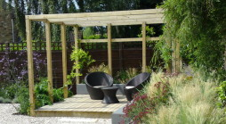 Garden Services - Contemporary Back garden