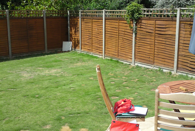 Client in Gerrards Cross wants Contemporary Back garden Gerrards Cross.