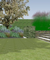 Garden Design Gerrards Crossmakeover by Rhoda Maw