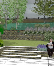 Garden Design Gerrards Cross Makeover - High Wycombe