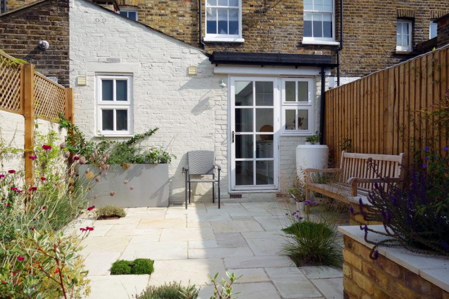 Small garden ideas creates a new outdoor room in London