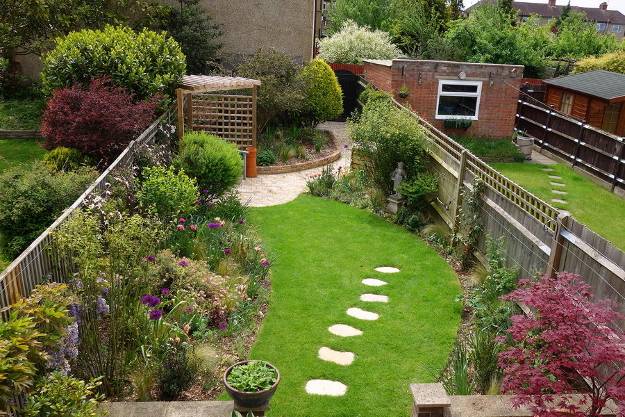 Planting designs for Mature Garden in Ruislip