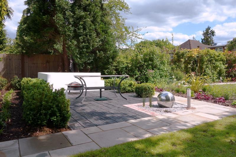Small garden design ideas with modern design