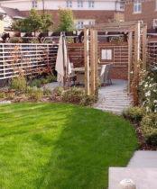 Ickenham Garden ideas - lots of visual interest in the re-design