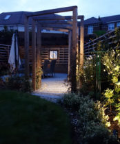 Subtle Garden lighting - Ickenham