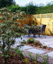 Modern Garden - Ruislip, After transformation by Rhoda Maw Garden.