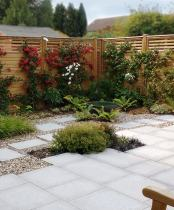 A Modern Garden, South Ruislip. Click here to see more information