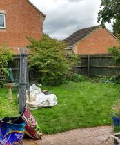 Small back garden -uxbridge