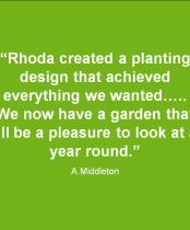 Testimonial for Pebble Garden in Harrow: