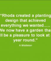 Testimonial for Pebble Garden in Harrow:
