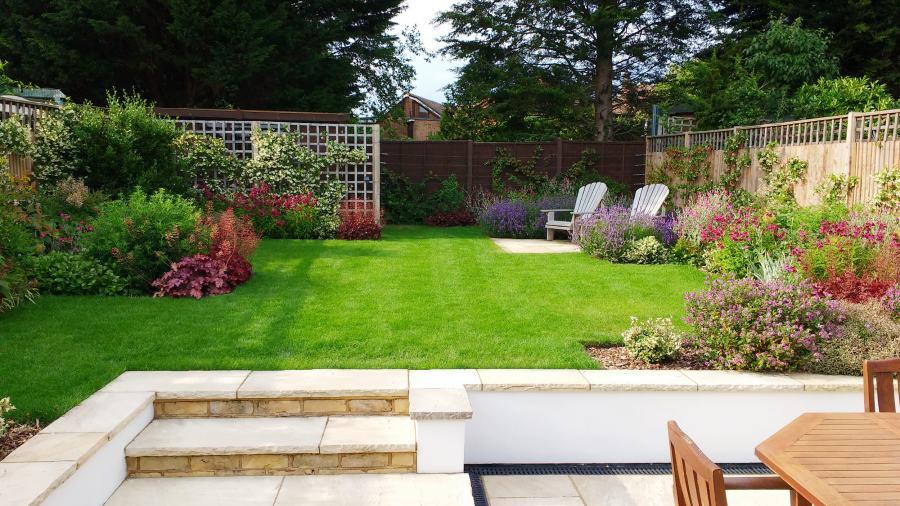 Medium sized garden design ideas - Rhoda Maw Garden Design on Medium Sized Backyard Ideas id=89408