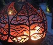 Contemporary Landscaping - Firepit
