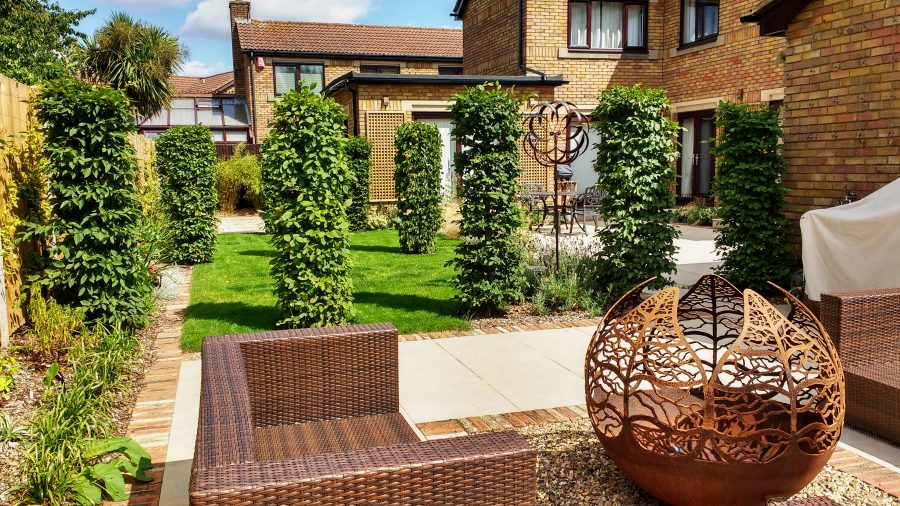 Contemporary Landscaping and furniture